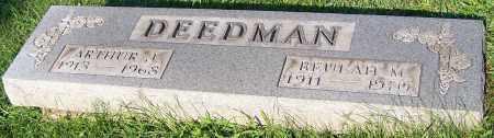 DEEDMAN, BEULAH M. - Stark County, Ohio | BEULAH M. DEEDMAN - Ohio Gravestone Photos