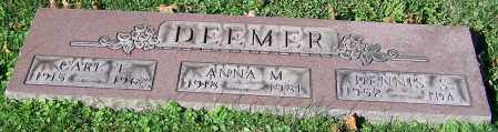 DEEMER, CARL T. - Stark County, Ohio | CARL T. DEEMER - Ohio Gravestone Photos