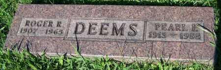 DEEMS, PEARL I. - Stark County, Ohio   PEARL I. DEEMS - Ohio Gravestone Photos