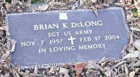 DELONG, BRIAN K.  (MIL) - Stark County, Ohio | BRIAN K.  (MIL) DELONG - Ohio Gravestone Photos