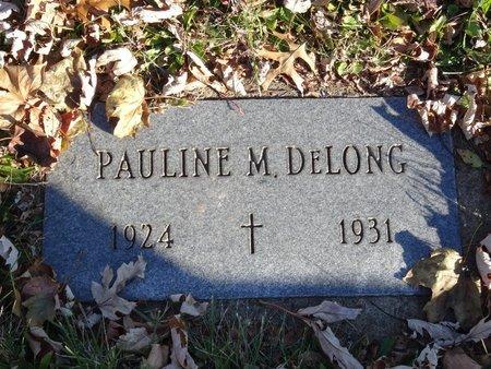 DELONG, PAULINE M. - Stark County, Ohio | PAULINE M. DELONG - Ohio Gravestone Photos
