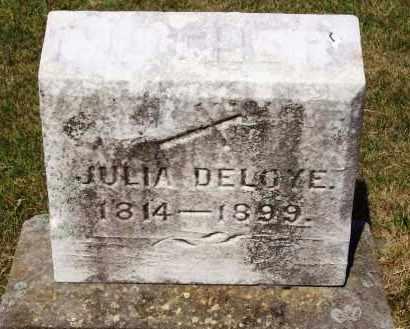 DELOYE, JULIA - Stark County, Ohio   JULIA DELOYE - Ohio Gravestone Photos