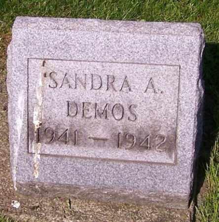 DEMOS, SANDRA A. - Stark County, Ohio   SANDRA A. DEMOS - Ohio Gravestone Photos
