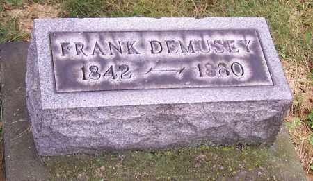 DEMUSEY, FRANK - Stark County, Ohio   FRANK DEMUSEY - Ohio Gravestone Photos