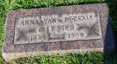 VAN DERSALL, ANNA - Stark County, Ohio | ANNA VAN DERSALL - Ohio Gravestone Photos