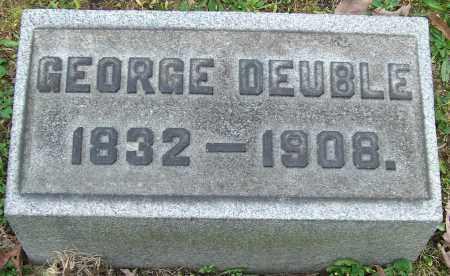 DEUBLE, GEORGE - Stark County, Ohio | GEORGE DEUBLE - Ohio Gravestone Photos