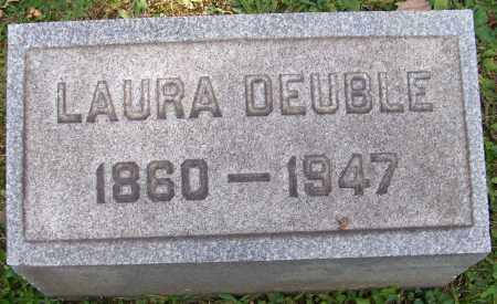 DEUBLE, LAURA - Stark County, Ohio | LAURA DEUBLE - Ohio Gravestone Photos