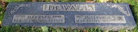 DEVAUL, HARRY N. - Stark County, Ohio | HARRY N. DEVAUL - Ohio Gravestone Photos