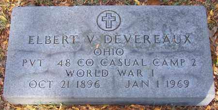 DEVEREAUX, ELBERT V. - Stark County, Ohio | ELBERT V. DEVEREAUX - Ohio Gravestone Photos