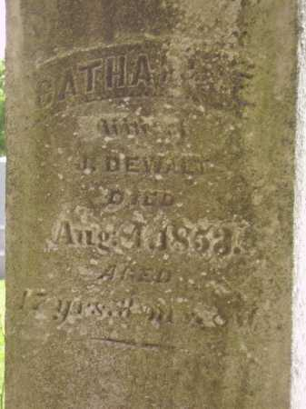 DEWALT, CATHERINE - Stark County, Ohio | CATHERINE DEWALT - Ohio Gravestone Photos