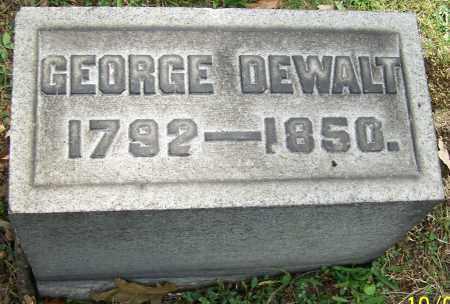 DEWALT, GEORGE - Stark County, Ohio   GEORGE DEWALT - Ohio Gravestone Photos