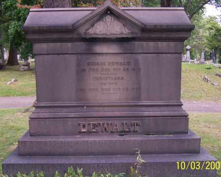 DEWALT, CHRISTIANA - Stark County, Ohio | CHRISTIANA DEWALT - Ohio Gravestone Photos