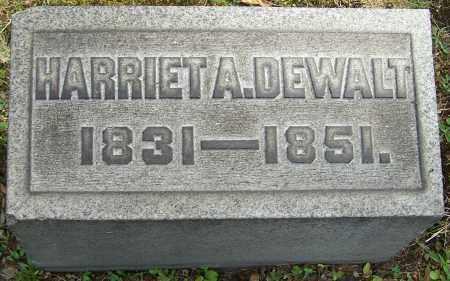 DEWALT, HARRIET A. - Stark County, Ohio | HARRIET A. DEWALT - Ohio Gravestone Photos