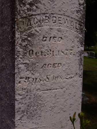 DEWALT, JACOB - Stark County, Ohio | JACOB DEWALT - Ohio Gravestone Photos