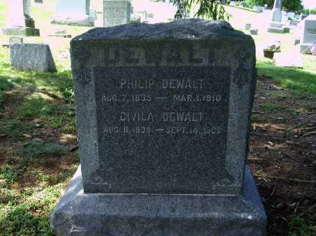 DEWALT, CIVILA - Stark County, Ohio | CIVILA DEWALT - Ohio Gravestone Photos