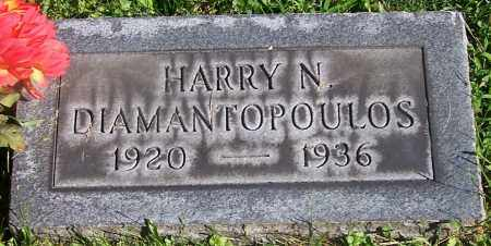 DIAMANTOPOULOS, HARRY N. - Stark County, Ohio | HARRY N. DIAMANTOPOULOS - Ohio Gravestone Photos