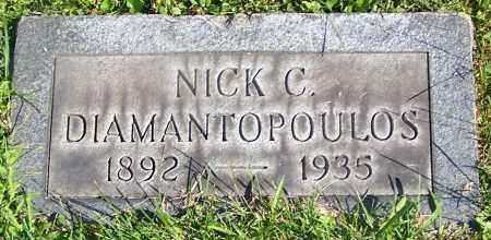 DIAMANTOPOULOS, NICK C. - Stark County, Ohio | NICK C. DIAMANTOPOULOS - Ohio Gravestone Photos