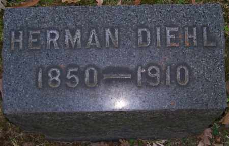 DIEHL, HERMAN - Stark County, Ohio   HERMAN DIEHL - Ohio Gravestone Photos