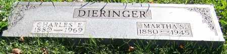 DIERINGER, MARTHA S. - Stark County, Ohio | MARTHA S. DIERINGER - Ohio Gravestone Photos