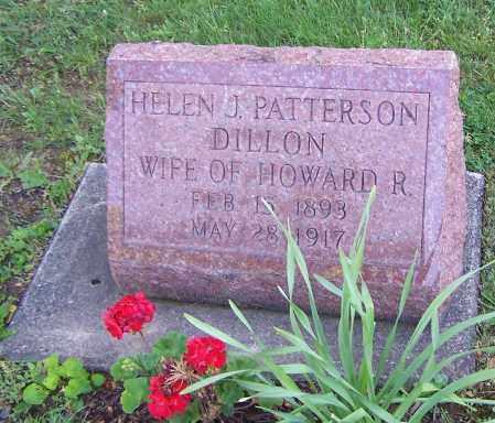 DILLION, HELEN J. PATTERSON - Stark County, Ohio | HELEN J. PATTERSON DILLION - Ohio Gravestone Photos