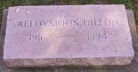 DILLON, ALLOYSIOUS - Stark County, Ohio | ALLOYSIOUS DILLON - Ohio Gravestone Photos