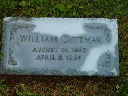 DITTMAR, WILLIAM - Stark County, Ohio | WILLIAM DITTMAR - Ohio Gravestone Photos
