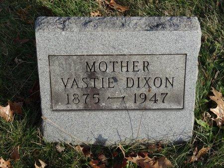DIXON, VASTIE - Stark County, Ohio   VASTIE DIXON - Ohio Gravestone Photos