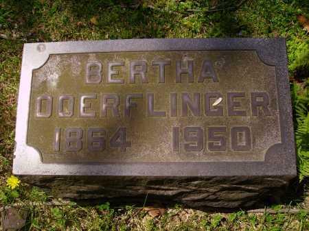BOGTLIN DOERFLINGER, BERTHA - Stark County, Ohio | BERTHA BOGTLIN DOERFLINGER - Ohio Gravestone Photos