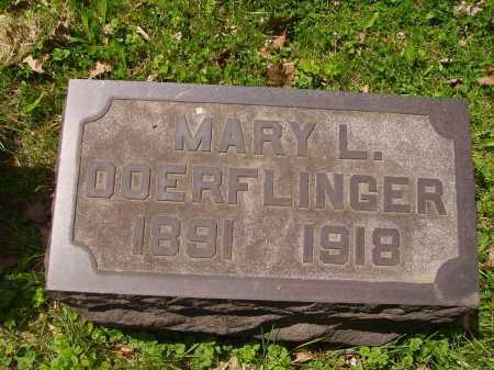 DOERFLINGER, MARY LOUISE - Stark County, Ohio | MARY LOUISE DOERFLINGER - Ohio Gravestone Photos