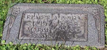 DOHY, ELMER A. - Stark County, Ohio | ELMER A. DOHY - Ohio Gravestone Photos