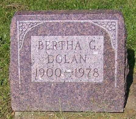 DOLAN, BERTHA G. - Stark County, Ohio | BERTHA G. DOLAN - Ohio Gravestone Photos
