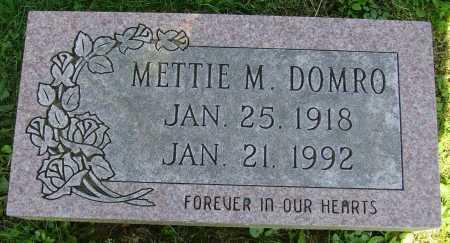KNAPP DOMRO, METTIE MAIRE - Stark County, Ohio   METTIE MAIRE KNAPP DOMRO - Ohio Gravestone Photos
