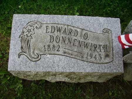 DONNENWIRTH, EDWARD O. - Stark County, Ohio   EDWARD O. DONNENWIRTH - Ohio Gravestone Photos