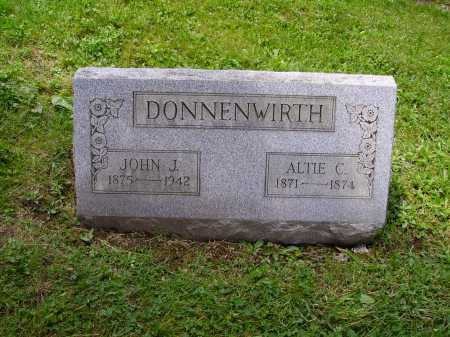 DONNENWIRTH, JOHN J. - Stark County, Ohio | JOHN J. DONNENWIRTH - Ohio Gravestone Photos