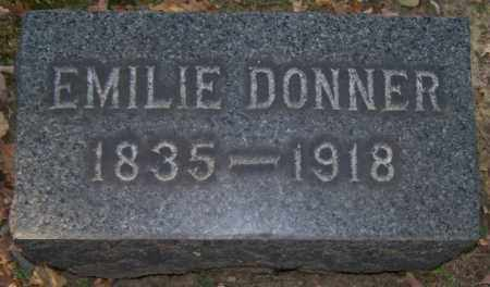 DONNER, EMILIE - Stark County, Ohio | EMILIE DONNER - Ohio Gravestone Photos