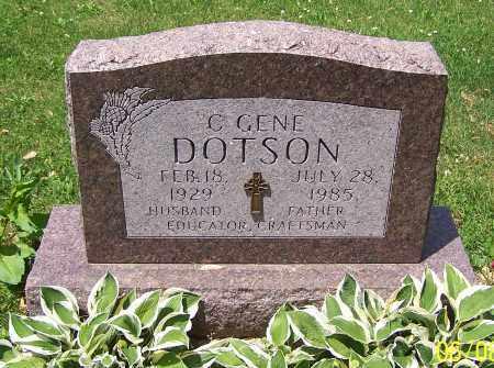 DOTSON, C.GENE - Stark County, Ohio   C.GENE DOTSON - Ohio Gravestone Photos