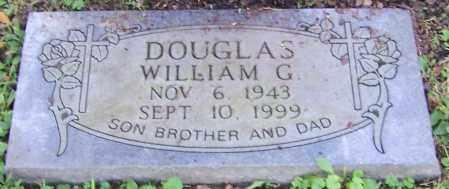 DOUGLAS, WILLIAM G. - Stark County, Ohio   WILLIAM G. DOUGLAS - Ohio Gravestone Photos