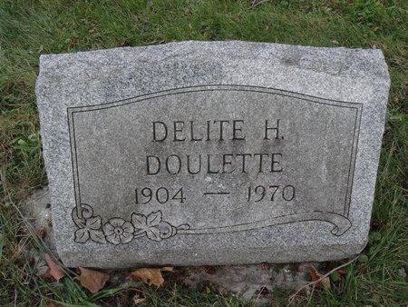 DOULETTE, DELITE H. - Stark County, Ohio | DELITE H. DOULETTE - Ohio Gravestone Photos