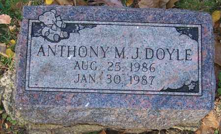 DOYLE, ANTHONY M. - Stark County, Ohio | ANTHONY M. DOYLE - Ohio Gravestone Photos
