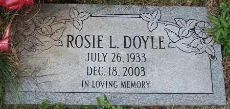 DOYLE, ROSIE L. - Stark County, Ohio   ROSIE L. DOYLE - Ohio Gravestone Photos