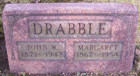 DRABBLE, JOHN W. - Stark County, Ohio   JOHN W. DRABBLE - Ohio Gravestone Photos