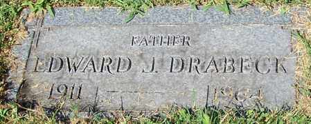 DRABECK, EDWARD J. - Stark County, Ohio | EDWARD J. DRABECK - Ohio Gravestone Photos