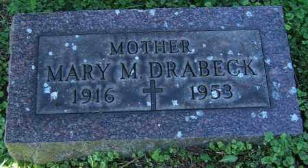 DRABECK, MARY M. - Stark County, Ohio   MARY M. DRABECK - Ohio Gravestone Photos