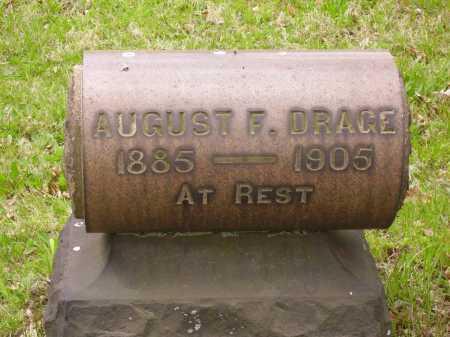 DRAGE, AUGUST F. - Stark County, Ohio   AUGUST F. DRAGE - Ohio Gravestone Photos