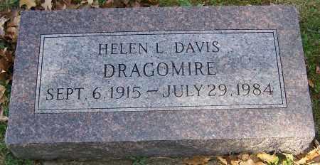 DRAGOMIRE, HELEN L. DAVIS - Stark County, Ohio | HELEN L. DAVIS DRAGOMIRE - Ohio Gravestone Photos