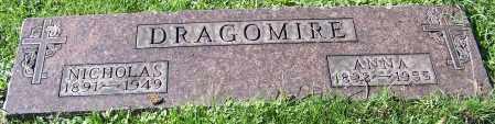 DRAGOMIRE, ANNA - Stark County, Ohio   ANNA DRAGOMIRE - Ohio Gravestone Photos