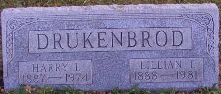 DRUKENBROD, LILLIAN T. - Stark County, Ohio | LILLIAN T. DRUKENBROD - Ohio Gravestone Photos