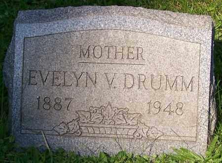 DRUMM, EVELYN V. - Stark County, Ohio | EVELYN V. DRUMM - Ohio Gravestone Photos