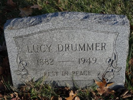 DRUMMER, LUCY - Stark County, Ohio | LUCY DRUMMER - Ohio Gravestone Photos
