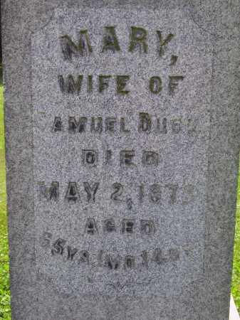 DUCK, MARY - Stark County, Ohio | MARY DUCK - Ohio Gravestone Photos